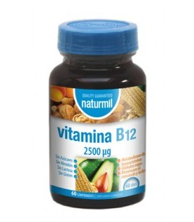 Vitamina B12 2.500 mcg · Dietmed · 60 comprimidos