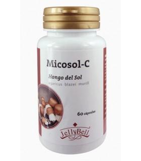Micosol-C Hongo del Sol · JellyBell · 60 Cápsulas