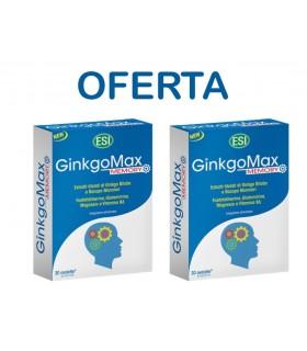 GINKGOMAX MEMORY · Esi · PROMO 30 Tabletas + 30 Tabletas