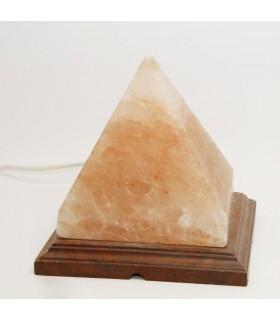 Lámpara del Sal Roca Pirámide