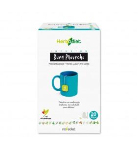 Infusión Buen Provecho Herbodiet · Novadiet · 20 Filtros