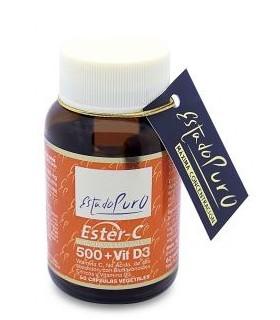 Ester-C® 500 mg Vitamina D3 · Tongil · 60 cápsulas