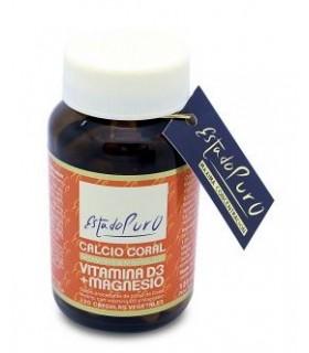 Calcio Coral con Vitamina D3 y Magnesio · Tongil · 120 cápsulas