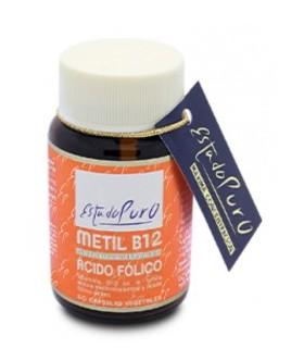 Metil B12 Ácido Fólico · Tongil · 60 cápsulas