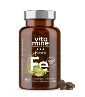 Vitamine Hierro · Herbora · 60 Comprimidos Masticables