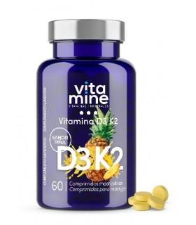 Vitamine D3 & K2 · Herbora · 60 comprimidos Masticables