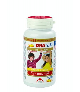 DHA KIDS DIETETICOS INTERSA 90 PERLAS MASTICABLES