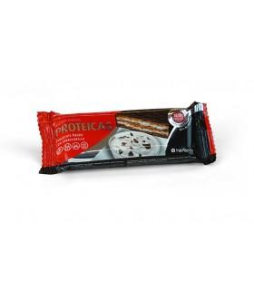 Barrita Protéica Chocolate Negro y Stracciatela . Herbora . 47 Gr