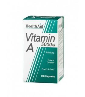 VITAMINA A HEALTHAID 5000 UI 100 CÁPSULAS