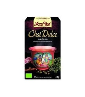 CHAI DULCE YOGI TEA 17 BOLSITAS