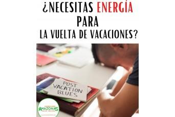 Necesitas ENERGÍA para la vuelta de las vacaciones????